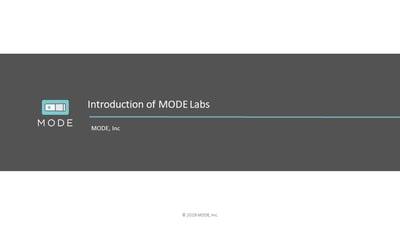202001-MODE Labs-Intro